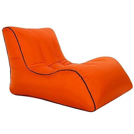 Amazon.com: LOCYOP - Sofá inflable para exteriores, silla de ...