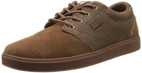 DVS Shoes Daewon 13 Vpr, Men's Skateboarding Brown (Brown Weave Suede)