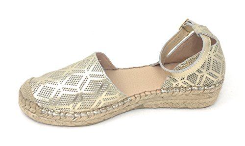 Andre Assous Womens Ingrid-a Flat Platino