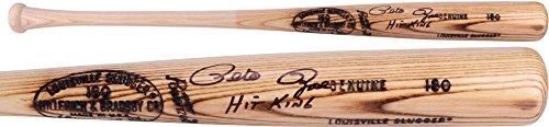 (Pete Rose Cincinnati Reds Autographed Louisville Slugger Blonde Bat with