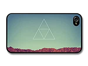 New Cool Hipster Triangle Design in the Sky 2 For Samsung Galaxy S3 I9300 Case Cover