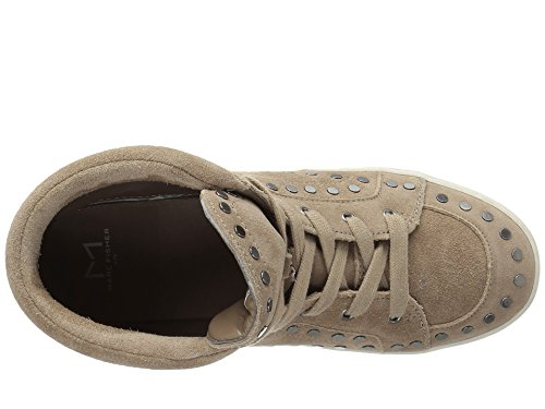 Scarpe Da Donna Di Marca Sierre High Fashion Sneakers Lace Up, Marrone Chiaro, Taglia 7.5