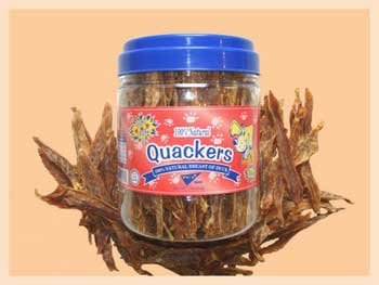 (Pet Center Quackers 1lb Canister)