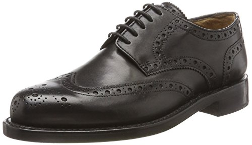 Schwarz Briggs 112007 clásicos J 001 Zapatos 02 para Negro Goodyear hombre qz4PB