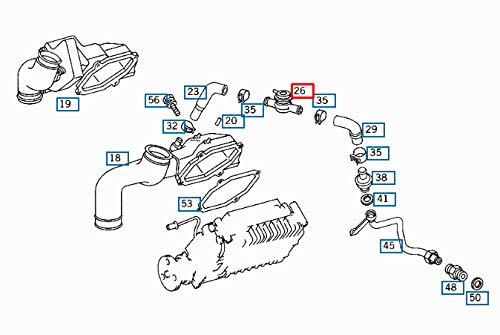 GTV PROJECT MB BENZ SLK R170 Absperrventil A0021405560 NEU