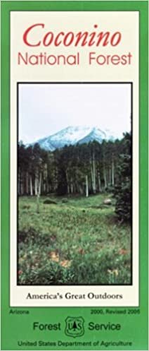 Amazon.com: Coconino National Forest Map - Waterproof ...