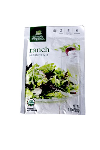 ingredients for ranch dressing mix - 5