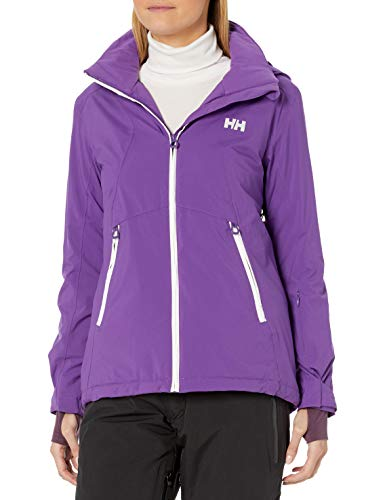 Helly-Hansen womens Bray Lightweight Hooded Waterproof Windproof Breathable Print Shell Rain Coat Jacket