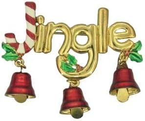 Christmas Jingle Pin Brooch