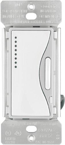 Eaton 9534WS-K 600-Watts, 120-Volt, 60-Hertz ASPIRE Single-Pole and Multi-Location Smart Dimmer, White Satin
