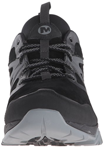 Capra Shoe Waterproof Hiking Bolt Merrell Men's Noir Leather Tgg71