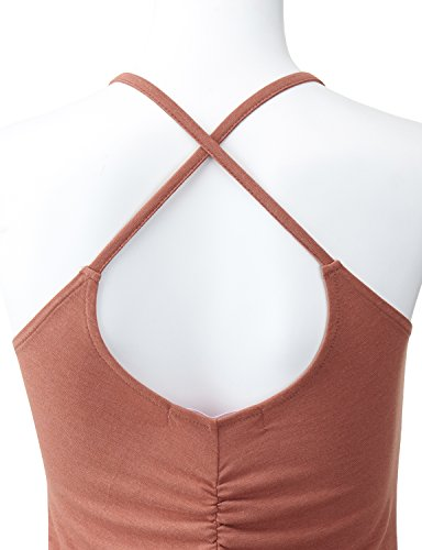 Regna X No Bother Women's Fashion Cross Back Active Tank Top (3 STYLES/S 3XL)