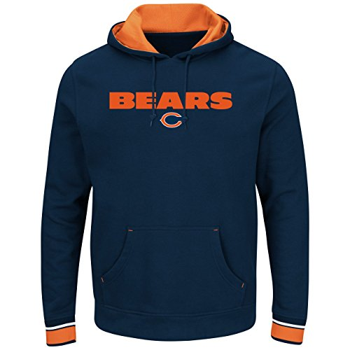 Majestic Chicago Bears Men's Championship Fleece Pullover Sweatshirt XXL