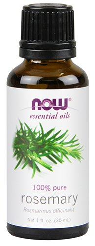NOW Essential Oils, Organic Rosemary Oil, 1-Ounce