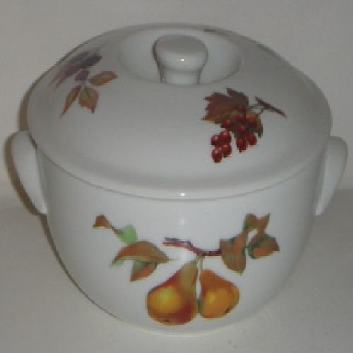- Royal Worcester Evesham Covered Casserole 1 QT