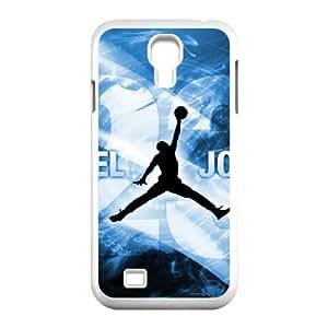 Samsung Galaxy S4 9500 Cell Phone Case White Jordan logo bgq
