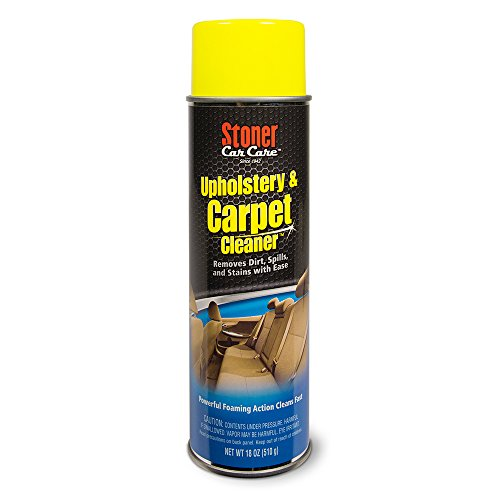 Stoner Car Care 91144 Upholstery and Carpet Cleaner – 18-Ounce
