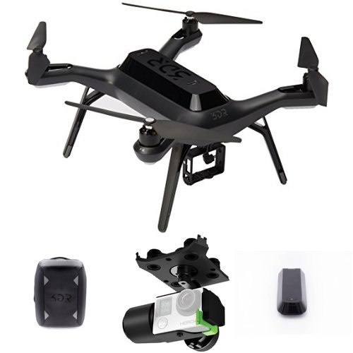 Amazon com: 3DR Solo Drone Quadcopter w/ Backpack, Gimbal