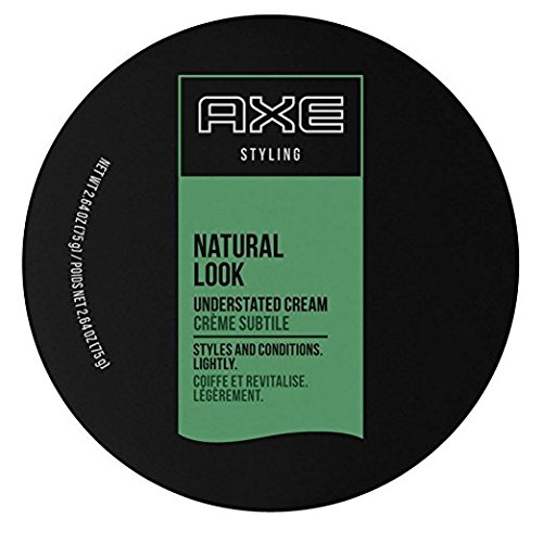 Axe  Styling Cream, Natural, Understated Look, 2.64Ounce (Pack of 2) (Best Pomade For Natural Hair)