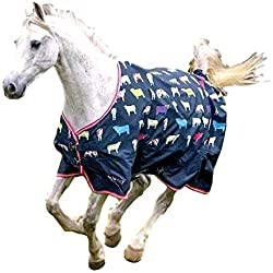 Shires Tempest Original 200, Cow Print, 78""