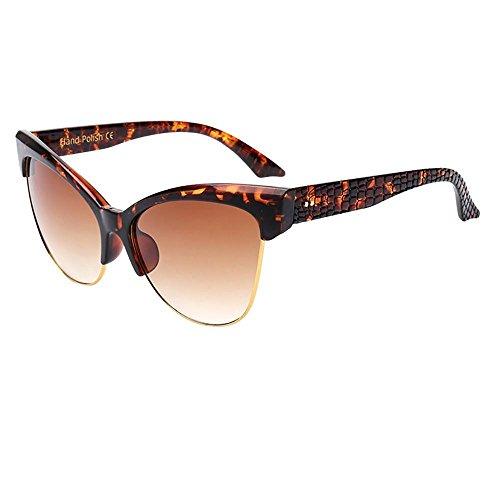 Limsea Hot Sale! Retro Eyewear Fashion Ladies Man Fashion Vintage Cat Eye Big Frame Sunglasses