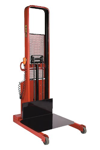 - Wesco Industrial Products 261087 Fixed Platform Model Battery-Powered Stacker, 2000-lb. Load Capacity, 90