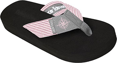 Tidewater Women's Gray Compass Sandals Gray/Pink (Compass Shoes)