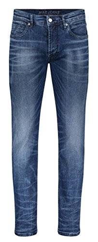 Azul Arne Heavy Pantalones Hombre Blue Used H595 MAC Pipe Dark IZ1Z7