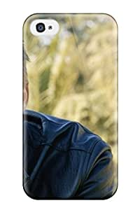 For Matt L Morrow Iphone Protective Case, High Quality For Iphone 4/4s Men Male Celebrity Actor Brad Pitt2961 Skin YY-ONE