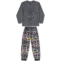 Pijama E Calça Meia Malha Infantil Quimby