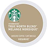 Starbucks True North Blend, K-Cup Pack for Keurig Brewers, 96-Count, True North, 96 Count