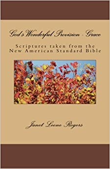 Book God's Wonderful Provision - Grace: Scriptures Taken from the New American Standard Bible