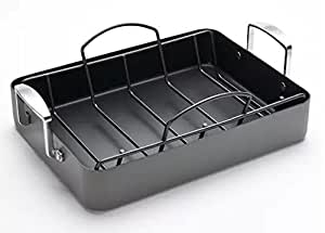 Amazon Com Food Network Roasting Pan And Rack