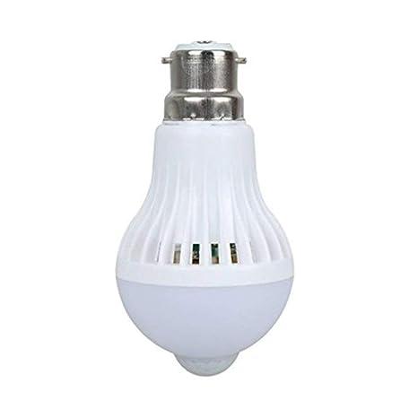 scoolr B22 9 W Bombilla LED PIR sensor de movimiento por infrarrojos automático interruptor luz nocturna