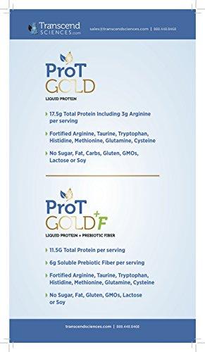 ProT GOLD + Fiber - Tropical Sugar Free - 30oz