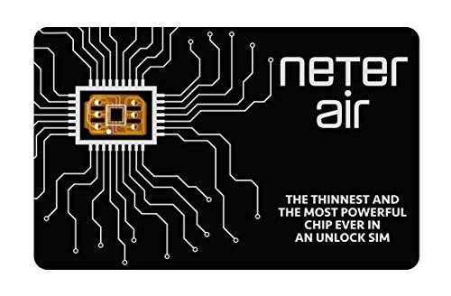 Neter Air Unlock Apple iPhone 7+ 7 6S+ 6S 6 5C 5S 4S 4 GSM Verizon Sprint T-Mobile CDMA GPP Sim