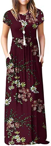 Viishow Womens Sleeve Dresses Pockets product image