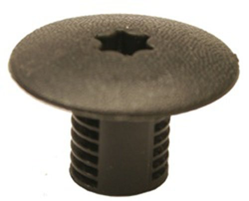 Clipsandfasteners Inc 25 Cowl Top Stud Covers Black Nylon For Chrysler 6503339