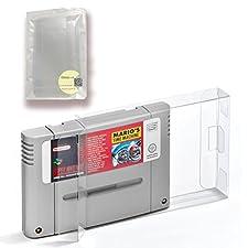 Childhood 10pcs SNES EU JP PAL carts modules Fit Game Protector Boxes Sleeve cases for Nintendo Super Famicom Cartridge EU JP Version