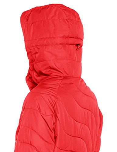 Red Rojo para Poppy Soffya Mujer Abrigo Billabong 0FPY6x