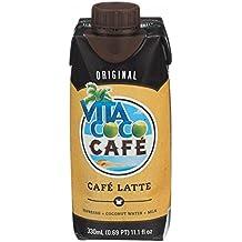 Vita Coco Cafe Latte Coconut Water, 330 Milliliter -- 12 per case.