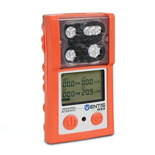 IndustrialScientific VTS-K12301-CPO Ventis MX4, 4.1 x 2.3 x 1.2
