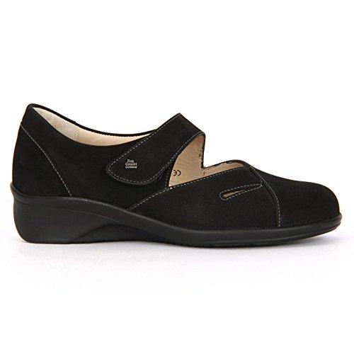 Finn Comfort Nubuck Black Aquila 3594 Womens Shoes q1wHPF