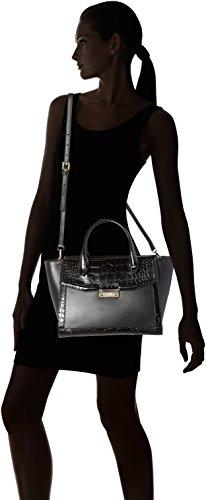 CAVALLI CLASS Olympia - Borse a secchiello Donna, Schwarz (Black), 15x23x30 cm (B x H T)
