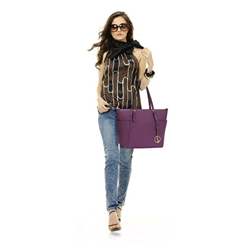 350 Women Clearance For LeahWard Shopper Sale Ladies Style Fashion Tote Designer Bags Ladies Bag Celeb Purple A4 Handbag Shoulder nYpqATxwq