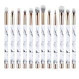UNIMEIX Marble Makeup Brushes 12