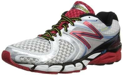 New Balance Men's M1260v3 Running Shoe,White/Red,9.5 D US