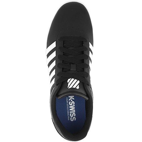 Noir white Sneakers Homme Court black Cheswick K Basses 002 swiss qngU8vY