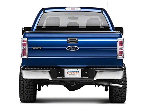 Modern Billet Tail Light Guards - Stainless Steel - for Ford F-150 Styleside (Excluding Raptor) 2009-2014