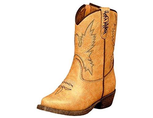Blazin Roxx Western Boots Girls Kids June Zip 7.5 Infant ...